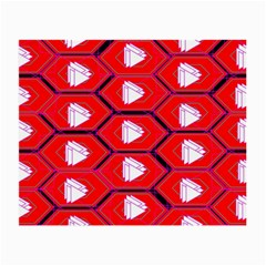 Red Bee Hive Small Glasses Cloth