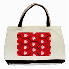 Red Bee Hive Basic Tote Bag