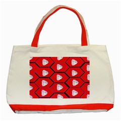 Red Bee Hive Classic Tote Bag (red)