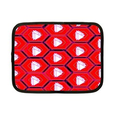 Red Bee Hive Netbook Case (small)
