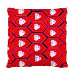 Red Bee Hive Standard Cushion Case (one Side)