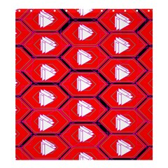 Red Bee Hive Shower Curtain 66  X 72  (large)