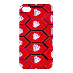 Red Bee Hive Apple Iphone 4/4s Hardshell Case