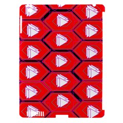 Red Bee Hive Apple Ipad 3/4 Hardshell Case (compatible With Smart Cover)