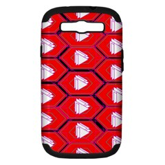 Red Bee Hive Samsung Galaxy S Iii Hardshell Case (pc+silicone)