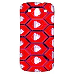 Red Bee Hive Samsung Galaxy S3 S Iii Classic Hardshell Back Case
