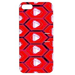 Red Bee Hive Apple Iphone 5 Hardshell Case With Stand