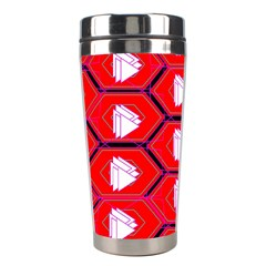 Red Bee Hive Stainless Steel Travel Tumblers