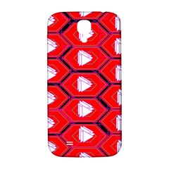 Red Bee Hive Samsung Galaxy S4 I9500/i9505  Hardshell Back Case