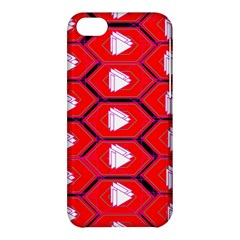 Red Bee Hive Apple Iphone 5c Hardshell Case