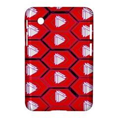Red Bee Hive Samsung Galaxy Tab 2 (7 ) P3100 Hardshell Case