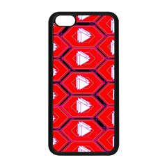 Red Bee Hive Apple Iphone 5c Seamless Case (black)