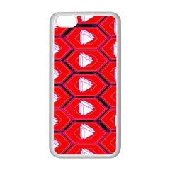 Red Bee Hive Apple Iphone 5c Seamless Case (white)