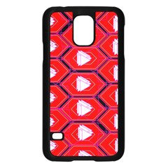 Red Bee Hive Samsung Galaxy S5 Case (black)