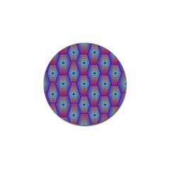 Red Blue Bee Hive Golf Ball Marker (10 Pack)