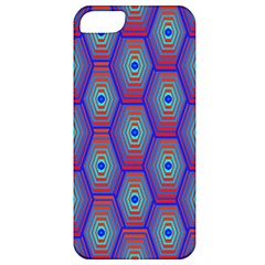 Red Blue Bee Hive Apple Iphone 5 Classic Hardshell Case