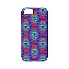 Red Blue Bee Hive Apple Iphone 5 Classic Hardshell Case (pc+silicone)