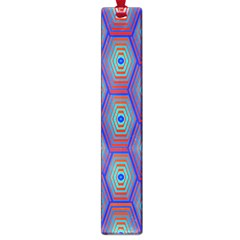 Red Blue Bee Hive Large Book Marks