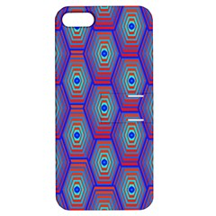 Red Blue Bee Hive Apple Iphone 5 Hardshell Case With Stand