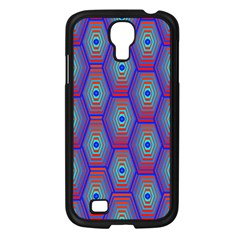 Red Blue Bee Hive Samsung Galaxy S4 I9500/ I9505 Case (black)