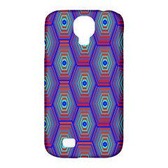 Red Blue Bee Hive Samsung Galaxy S4 Classic Hardshell Case (pc+silicone)