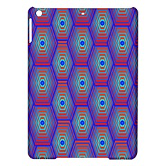 Red Blue Bee Hive Ipad Air Hardshell Cases