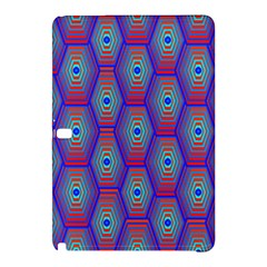 Red Blue Bee Hive Samsung Galaxy Tab Pro 12 2 Hardshell Case