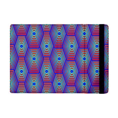 Red Blue Bee Hive iPad Mini 2 Flip Cases