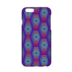 Red Blue Bee Hive Apple Iphone 6/6s Hardshell Case