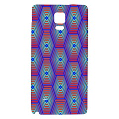Red Blue Bee Hive Galaxy Note 4 Back Case