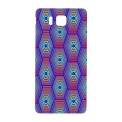 Red Blue Bee Hive Samsung Galaxy Alpha Hardshell Back Case
