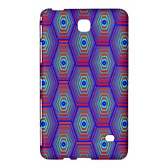 Red Blue Bee Hive Samsung Galaxy Tab 4 (7 ) Hardshell Case
