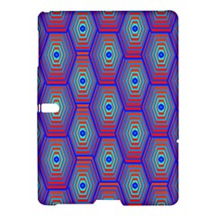 Red Blue Bee Hive Samsung Galaxy Tab S (10 5 ) Hardshell Case
