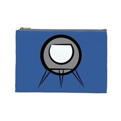 Rocket Ship App Icon Cosmetic Bag (large)