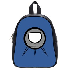 Rocket Ship App Icon School Bags (small)