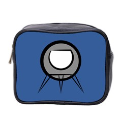 Rocket Ship App Icon Mini Toiletries Bag 2 Side