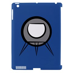 Rocket Ship App Icon Apple Ipad 3/4 Hardshell Case (compatible With Smart Cover)