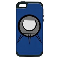 Rocket Ship App Icon Apple Iphone 5 Hardshell Case (pc+silicone)