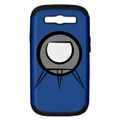 Rocket Ship App Icon Samsung Galaxy S III Hardshell Case (PC+Silicone)