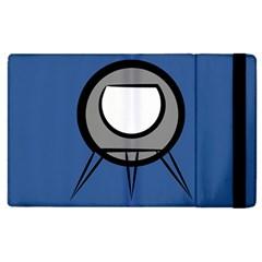 Rocket Ship App Icon Apple Ipad 2 Flip Case