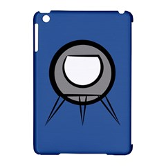 Rocket Ship App Icon Apple Ipad Mini Hardshell Case (compatible With Smart Cover)