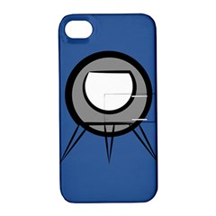 Rocket Ship App Icon Apple Iphone 4/4s Hardshell Case With Stand