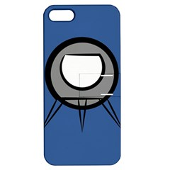 Rocket Ship App Icon Apple Iphone 5 Hardshell Case With Stand