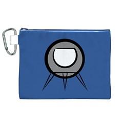 Rocket Ship App Icon Canvas Cosmetic Bag (xl)