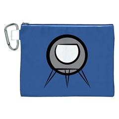 Rocket Ship App Icon Canvas Cosmetic Bag (xxl)