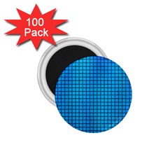 Seamless Blue Tiles Pattern 1 75  Magnets (100 Pack)