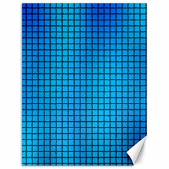 Seamless Blue Tiles Pattern Canvas 12  X 16