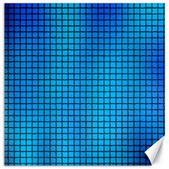 Seamless Blue Tiles Pattern Canvas 16  X 16
