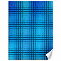 Seamless Blue Tiles Pattern Canvas 36  X 48