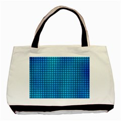 Seamless Blue Tiles Pattern Basic Tote Bag (two Sides)
